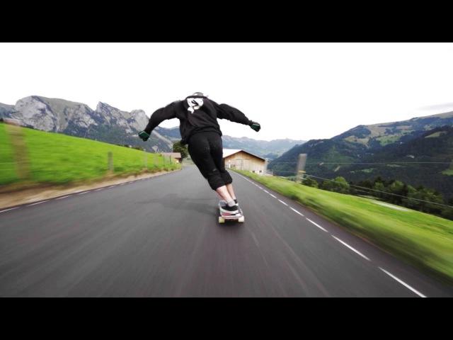 Longboard : the flight of the spirit