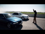 BMW M5 E39 4.9L vs Mercedes-Benz E55 W210 AMG 5.5L