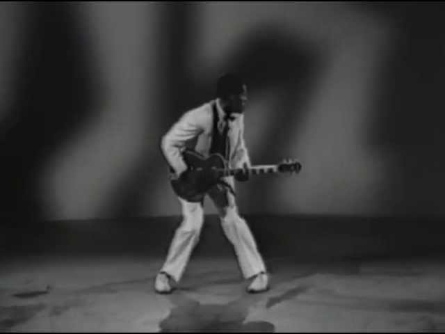 Chuck Berry Performs
