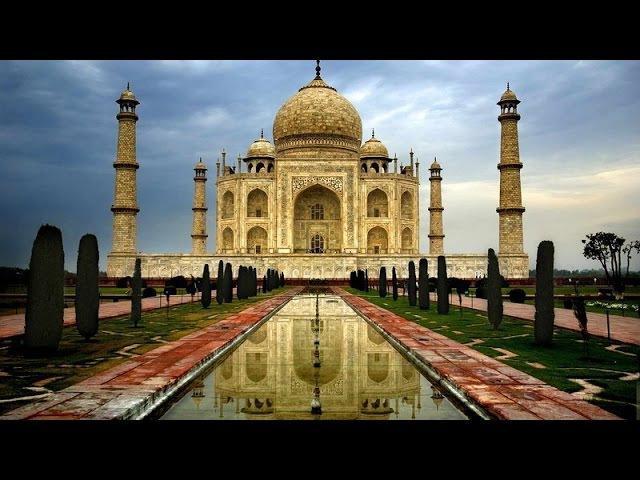 Самые красивые места на Земле. Тадж-Махал внутри и снаружи. Великолепные сады.
