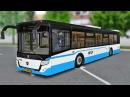 Испытания электробуса ЛиАЗ-6274 в Москве! - OMSI 2