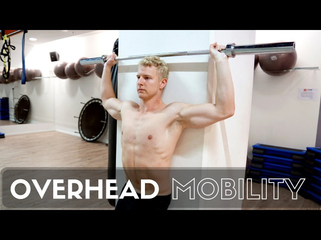 3 Exercises for Overhead Mobility 3 exercises for overhead mobility