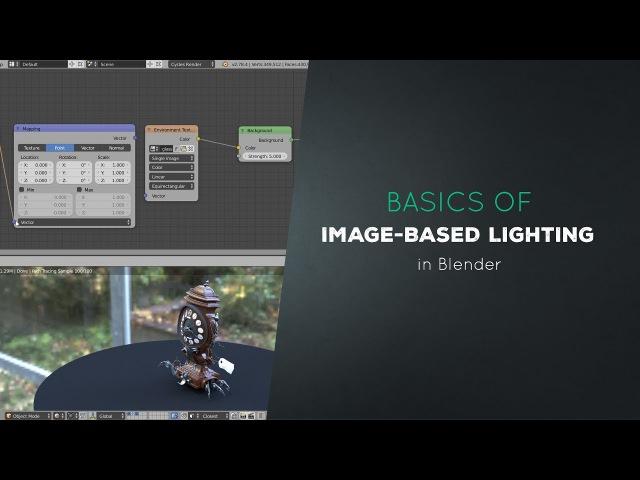 Basics of Image-based Lighting in Blender (2/7)