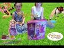 Кукла рапунцель дисней, парикмахерский салон с паскалем, Даша злится! rapunzel disney