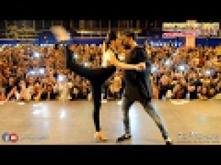 Carlos Espinosa y M Angeles [El Amante] @ BACHATEA 2017