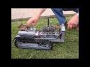 самодельный гусеничный мини трактор