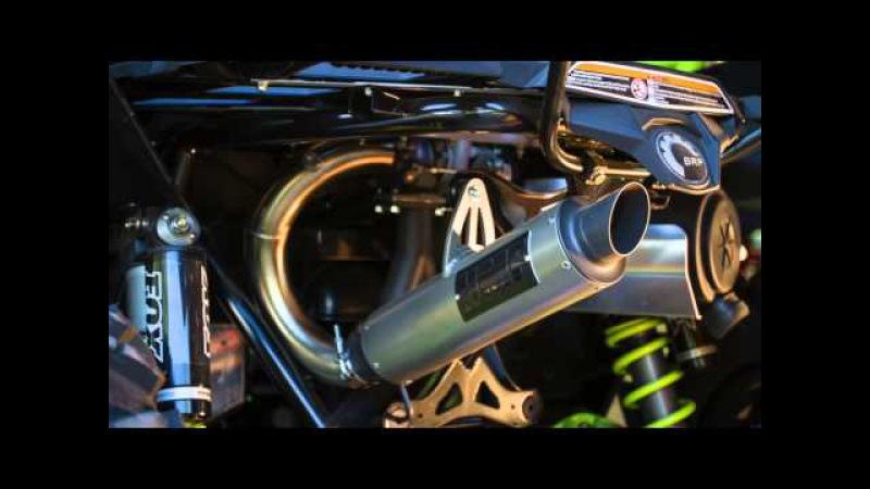 HMF Big Core Exhaust on Maverick X ds Turbo - Sound Clip