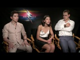 Dacre Montgomery, Naomi Scott and Ludi Lin - Power Rangers Movie Interview