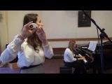 Морис Равель - Вокализ в форме Хабанеры, флейта и фортепиано, исполн. Елизавета Г ...