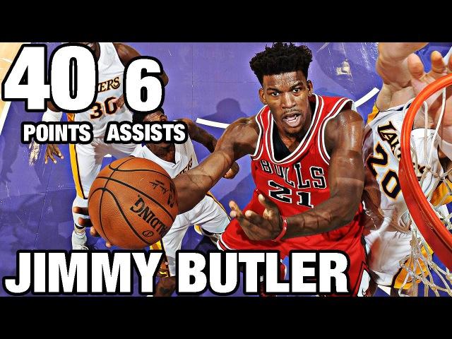 Jimmy Buter Drops 40 Points in LA | 11.20.16