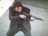 AL PACINO and VAL KILMER shoot guns filming 'Heat' on L.A. street