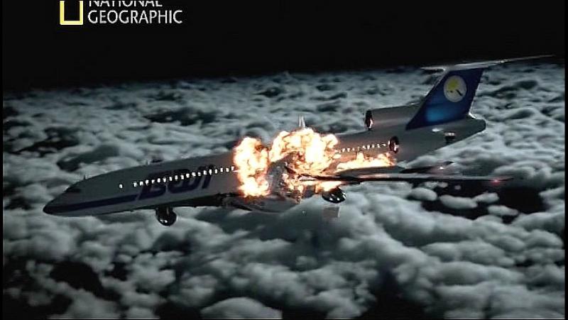 Секунды до катастрофы _ Столкновение в небе _ National Geographic _ HDTV. Столкновение над Боденским озером, Ту-154 М Boeing 757