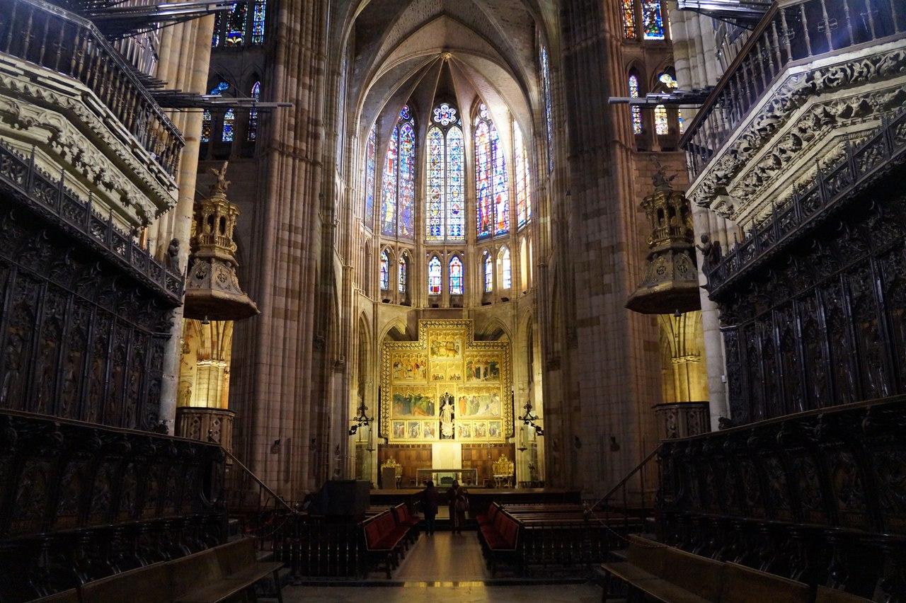 Собор Санта-Мария-де-Леон в испанском Леоне