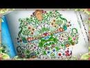 ТАИНСТВЕННЫЙ САД РАСКРАСКА АНТИСТРЕСС ДЛЯ ТВОРЧЕСТВА И ВДОХНОВЕНИЯ SECRET GARDEN YulyaBullet