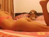 Красивая девушка, секси, попа, идеальная попка, (частное, домашнее, на веб камер