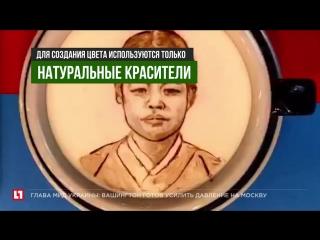 Бариста-художник повторяет полотна Ван Гога на молочной пенке