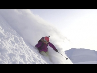 World of Adventure hits the slopes with pro skier Lynsey Dyer