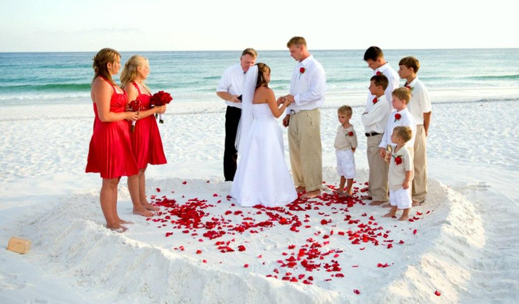 Dpl9sndnPbs - Свадьба на пляже: некоторые нюансы в организации (35 фото)
