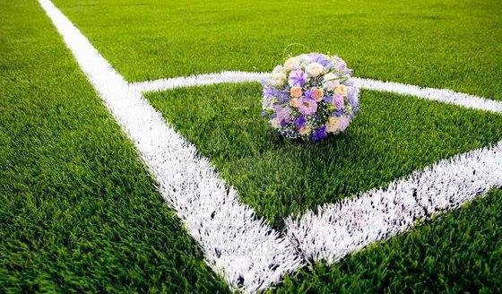 Свадьба с футбольной тематикой (24 фото)