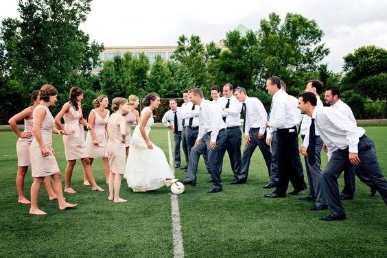 6w6bw7qBeO4 - Свадьба с футбольной тематикой (24 фото)