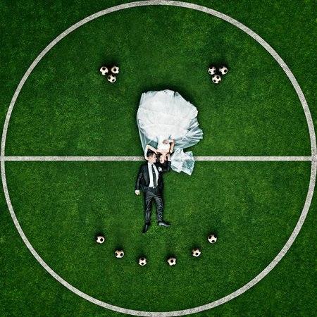 A15qwWYwd 0 - Свадьба с футбольной тематикой (24 фото)