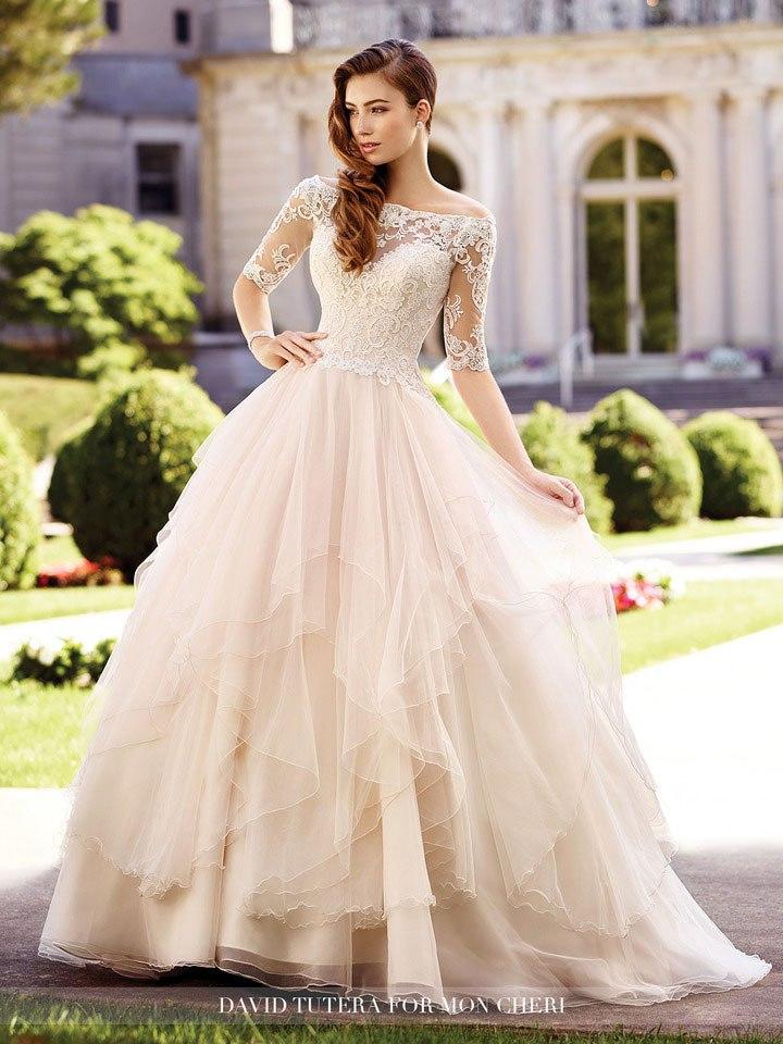 WZnZj8JyGjI - Самые лучшие свадебные платья сезона 2017 (45 фото)