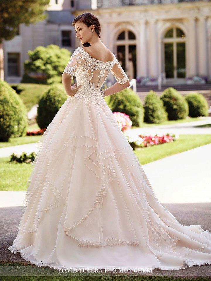 ybhSYcxUdes - Самые лучшие свадебные платья сезона 2017 (45 фото)