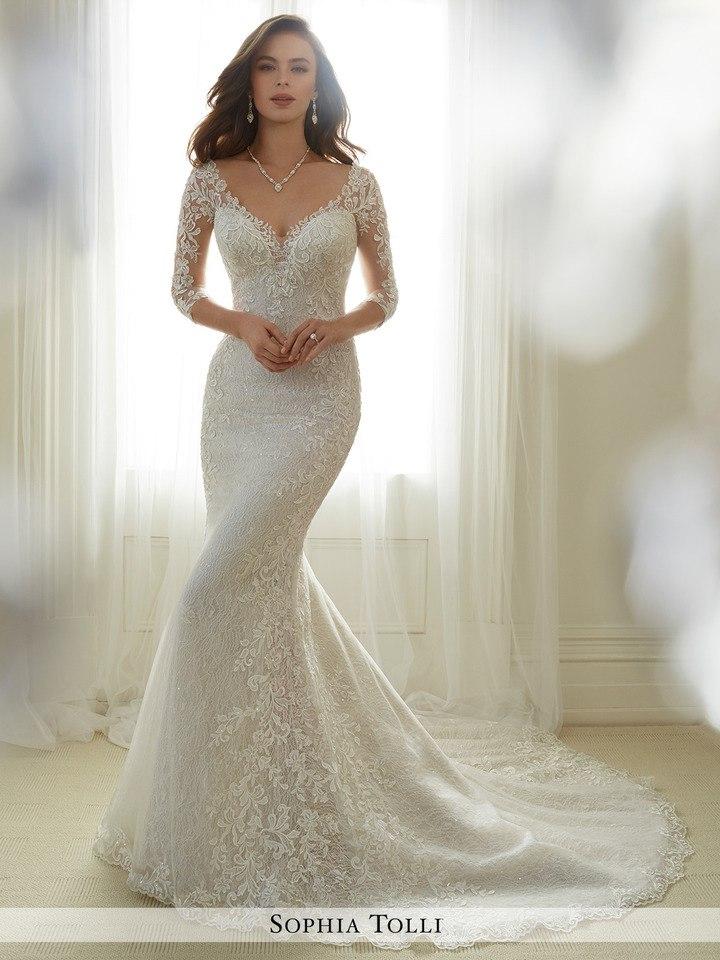 JM 7e24LQA0 - Самые лучшие свадебные платья сезона 2017 (45 фото)