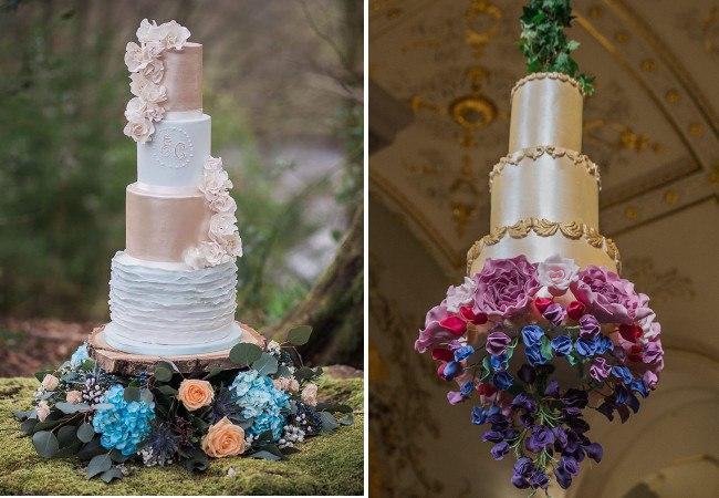 Свадебные торты 2017: модные тенденции (фото)