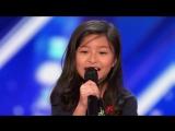 9-летняя фанатка Селин Дион поражает толпу песней My Heart Will Go On на шоу талантов