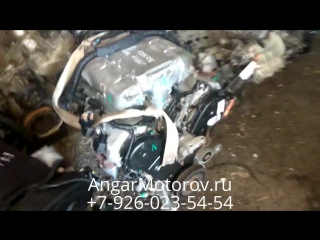 Отправка Двигателя Хонда Пилот 3.5 J35A4 со склада в Москве клиенту в Нижний Новгород