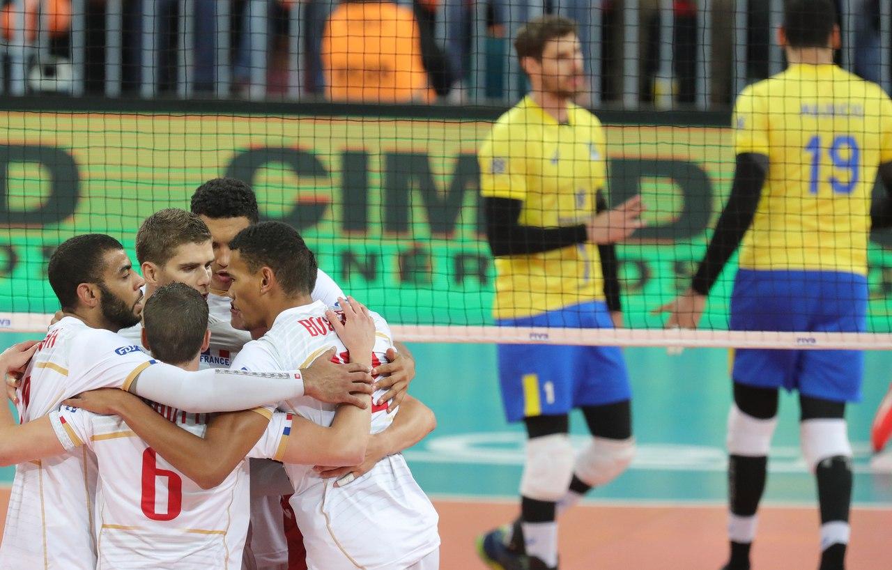Сборная Франции стала победителем Мировой лиги, обыграв Бразилию