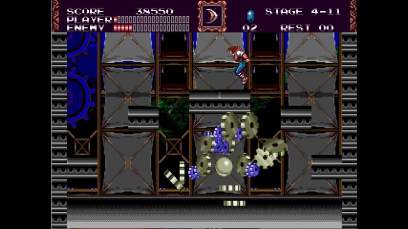 Castlevania Bloodlines (Morris, Expert) - 08 Gear Man (No Dmg, Subwpns)