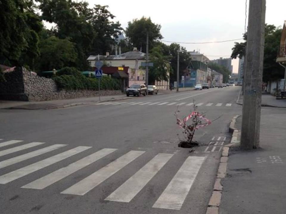 Подземелье угрожает жителям Харькова
