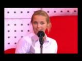 Девушка копирует голоса знаменитостей,один в один!!!.Amazing show. Аглая Шиловск.mp4