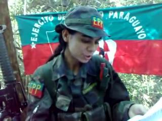 Ejercito del pueblo paraguayo leader (liliana villalba ayala) reivindica a sus soldados caídos