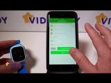SeTracker2 - видео обзор и настройка приложения для управления часами с телефона