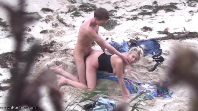 Пляжный секс экстрим