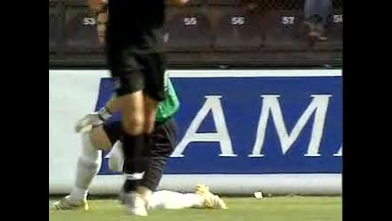 2005 - 2006 Sezonu - Gaziantepspor-Beşiktaş dakika 12 gol Gökhan Güleç