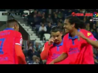 Resumen Malaga 2 - 1 Las Palmas - Jornada 23