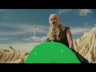 Забавные моменты со съёмок 6 сезона Игры Престолов