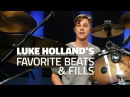 Luke Holland's Favorite Drum Beats Fills FULL DRUM LESSON Drumeo