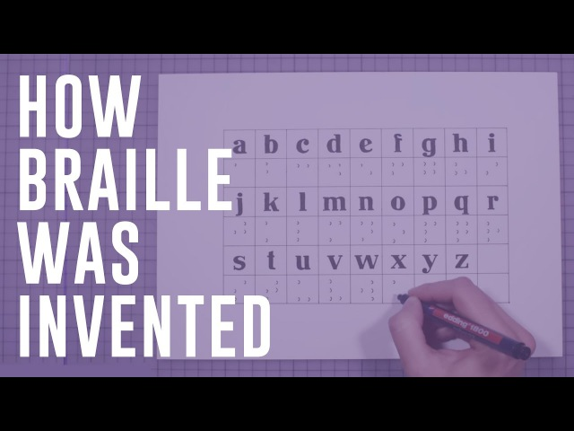 How Braille was invented | Moments of Vision 9 - Jessica Oreck