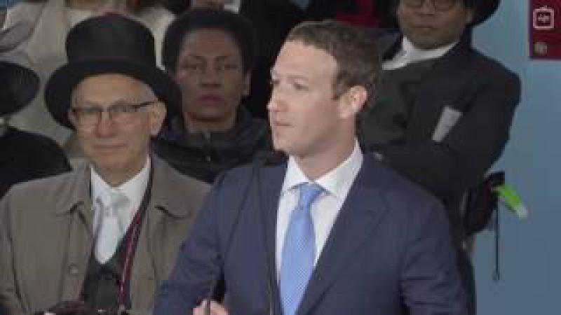Речь Марка Цукерберга перед выпускниками Гарвард, 2017