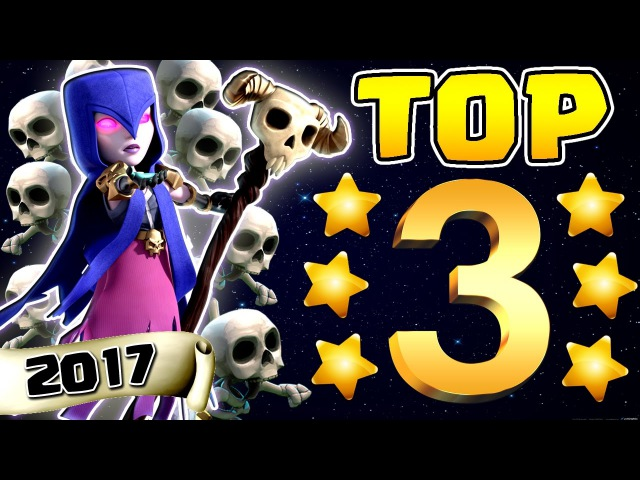 TOP 3 2017 TH9 STRONGEST 3 STAR WAR ATTACK STRATEGY | No Bowlers | Clash of Clans