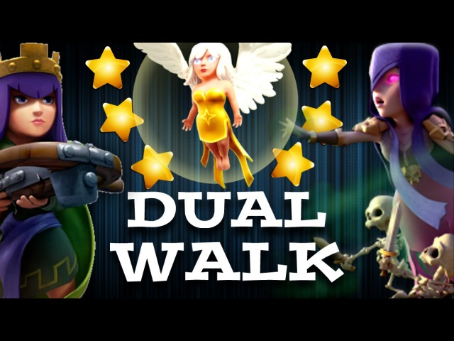 DUAL WALK -  SUPER STRONG TH9 3 STAR WAR ATTACK STRATEGY 2017 : Clash of Clans