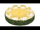 Салат Фьюжн Праздничное оформление необычайно вкусного салата Пошаговый рецепт