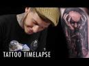 Tattoo Timelapse Luke Sayer