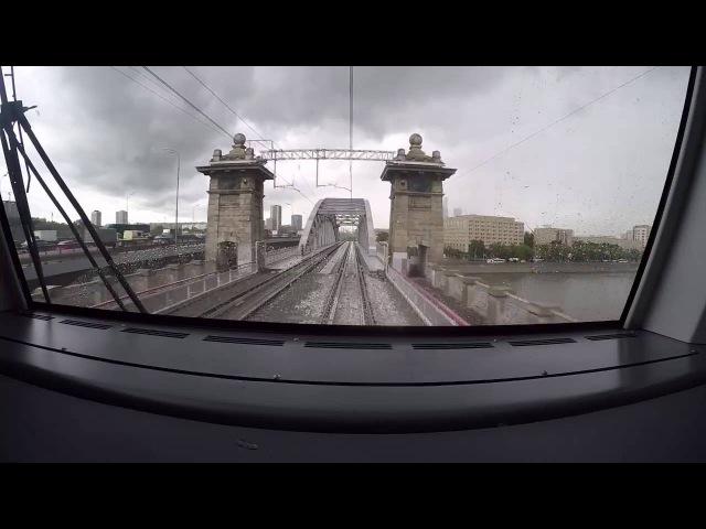 Медленное телевидение Все Московское центральное кольцо за 77 минут