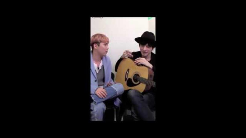 Lee Hongki and Yu Shirota - You I Just The Way You Are (Jason Mraz and Bruno Mars)